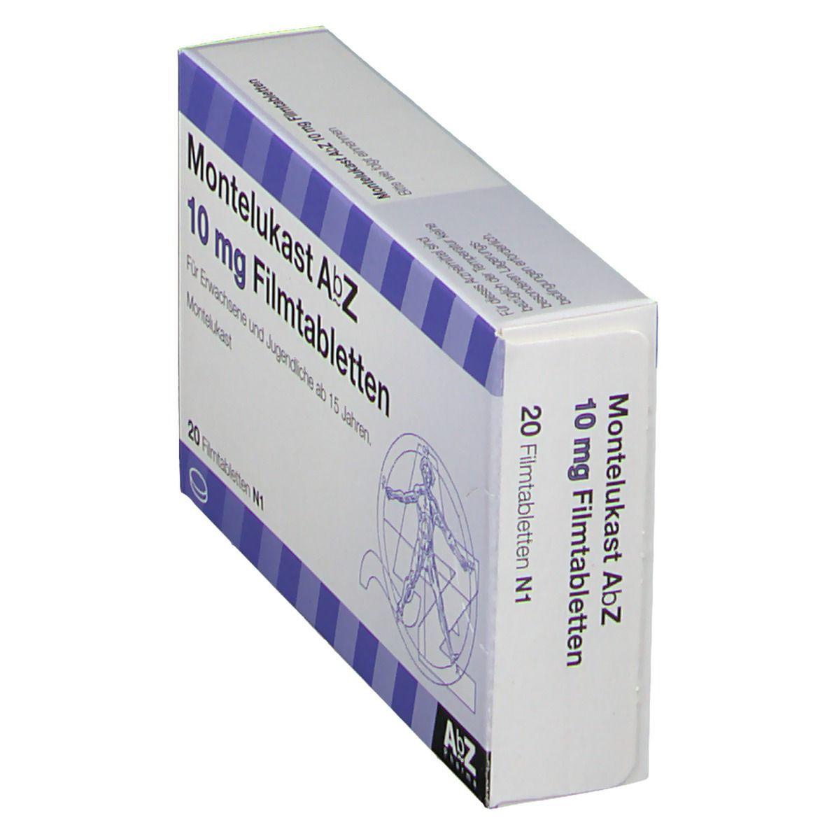 MONTELUKAST AbZ 10 mg 20 St - shop-apotheke.com