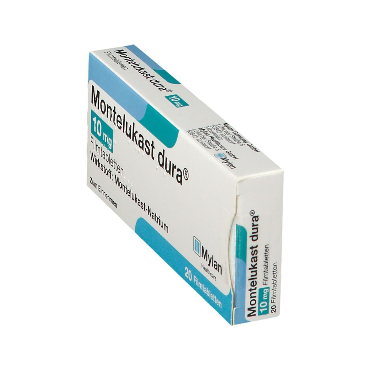 MONTELUKAST dura 10 mg Filmtabletten 20 St - shop-apotheke.com