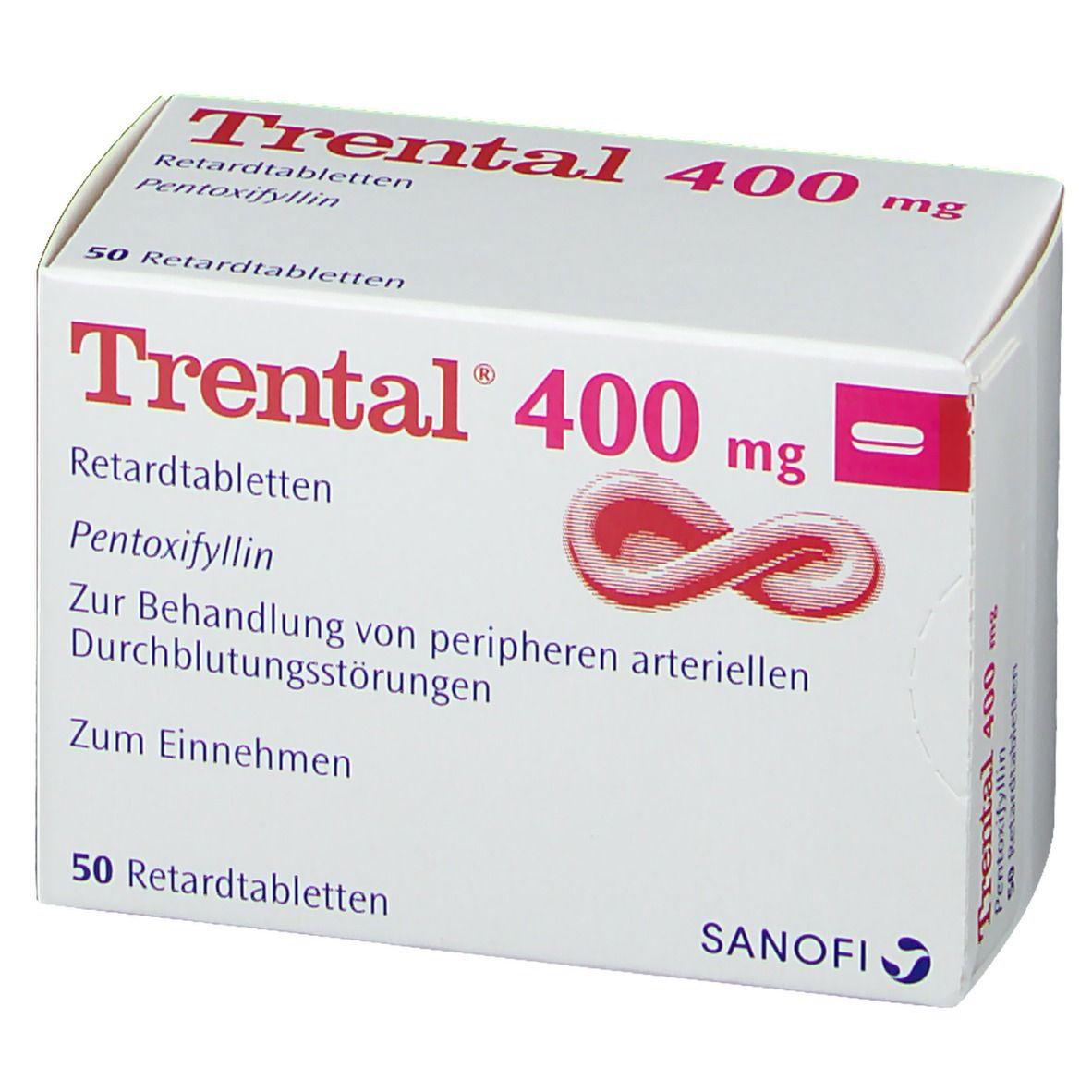 Trental 400 Retardtabletten 50 St - shop-apotheke.com