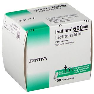 Ibuflam® 600 Lichtenstein Filmtabletten 100 St - shop ...