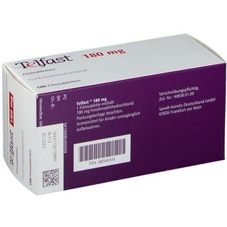 Telfast 180 mg Filmtabletten 100 St - shop-apotheke.com
