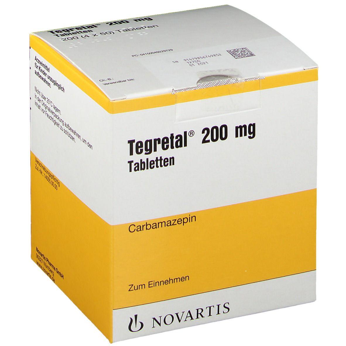 Tegretal® 200 mg 4X50 St - shop-apotheke.com