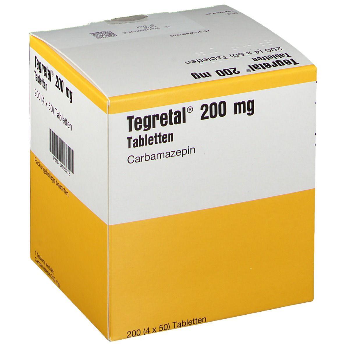 Tegretal 200 Tabletten 4X50 St - shop-apotheke.com
