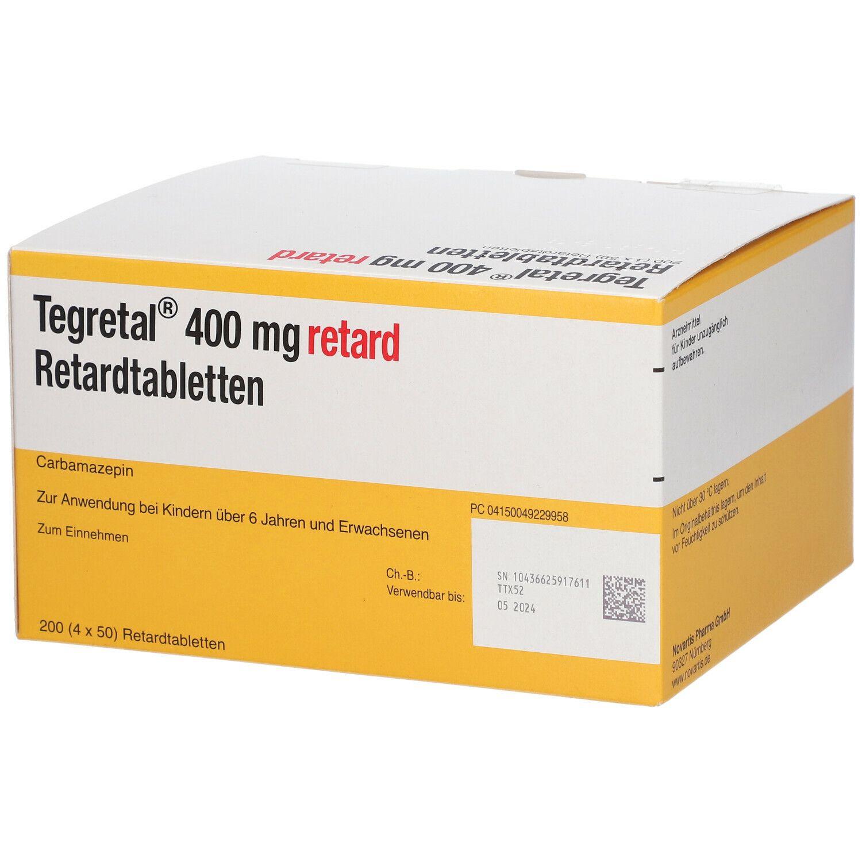 Tegretal 400 Retardtabletten 4X50 St - shop-apotheke.com