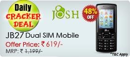 Josh JB27 Dual Sim Mobile
