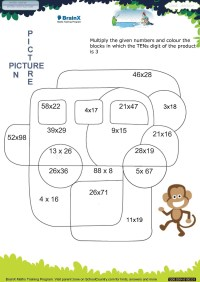 BrainX_Grade3_Mini--Math Worksheets for Grade 3