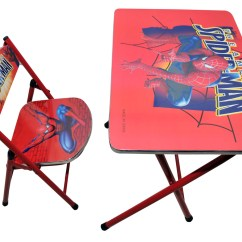 Folding Chair Flipkart Mesh Lumbar Back Support For Office Car Seat Kids Foldable Study Table And Spiderman Red