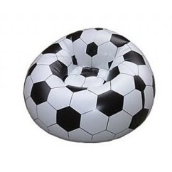 Beanless Sofa Air Chair Jane Shop Inflatable Soccer Football Sports 60kg Design For Kids