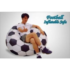 Beanless Sofa Air Chair Modern Sectional India Inflatable Football Shape Kids ...