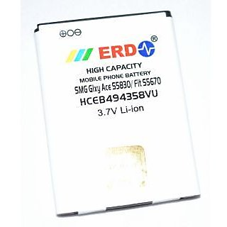ERD Samsung compatible Battery Galaxy Ace S5830