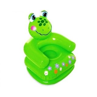 intex air chair ergonomic head support buy inflatable animal sofa for kids baby children frog