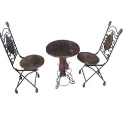 Iron Chair Price Low Back Lawn Chairs Onlineshoppee Wrought Table Set At Best Prices