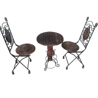 iron chair price covers for roll top dining chairs onlineshoppee wrought table set at best prices