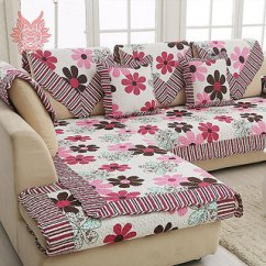 Sofa Cover Cloth Rate Red Leather Dallas Texas Buy Floral Cotton Set Online 1200 From Shopclues