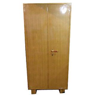 Buy Godrej Steel Kapat Almirah Brown Color 5ft 6inch