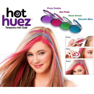 pare cpex hot huez temporary hair chalk with 4 colors price online india parometer