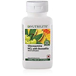 Amway Nutrilite Glucosamine Hcl With Boswellia (120 ...