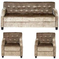 Velvet Sofa Fabric Online India Queen Size Savannah Futon Bed Buy Gioteak Stalin 5 Seater Set - Get ...