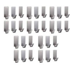 Kitchen Hooks Designs With Islands Buy 6thdimensions 30 Pcs Stainless Steel Adhesive For Room Bathroom Online Get 29 Off
