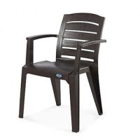 NILKAMAL CHAIR 2135 WEATHER BROWN