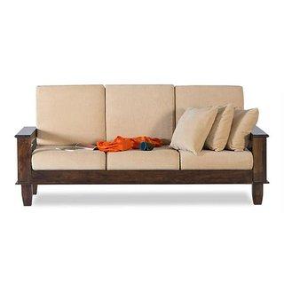 foldable wooden sofa set sofascore apk pro buy bm wood furniture 3 seater folding natural online
