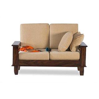 foldable wooden sofa set klaussner living room posen 83844 buy bm wood furniture 2 seater folding natural online