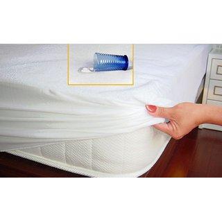 Waterproof Mattress Protector King Size 78x78 White