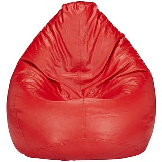 Buy Home Berry XL Red Bean Bag Without Beans Online