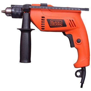 Black Decker 500 watt 13mm Variable Speed Reversible Hammer Drill Machine