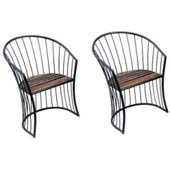 Wrought Iron Chair Swing Stand White Buy Shilpi Antique Look Solid Wood Living Room Garden For Coffee Set Of 2 Online Get 36 Off