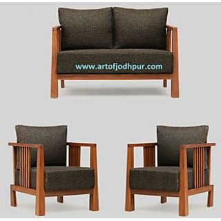 sofa set online shopping one person leather sets in sheesham wood home furniture prices india