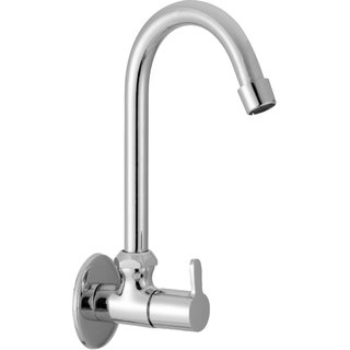 kitchen tap distressed chairs buy sss sink cock with flange foam flow type fusion material brass online get 50 off