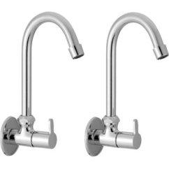 Kitchen Tap Exhaust Fan Buy Sss Sink Cock With Flange Foam Flow Set Of 2 Pcs