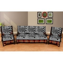 Latest Design Sofa Covers Leather Corner Derry Buy Manvi Creations Cotton Cover Pack Of 6 Online