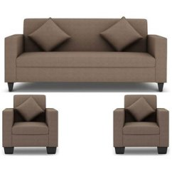5 Seater Sofa Set Under 20000 Deep Sectional Grey Buy Gioteak Jakarta 3 1 In Beige Upholstery