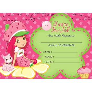 bikri kendra birthday invitations metallic card 50 cards kids birthday party invitations for boys or girls bk 11