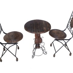 Iron Chair Price Wedding Covers Australia Onlineshoppee Wrought Table Set At Best Prices