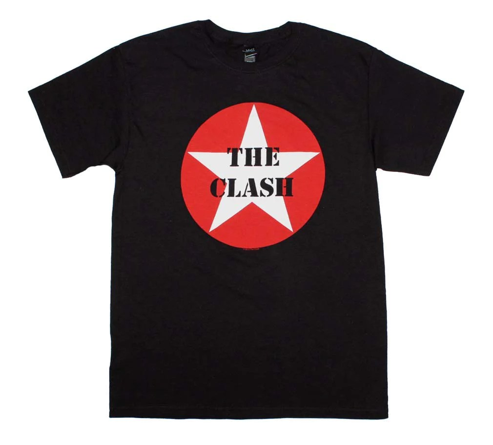 Clash Star Logo T-shirt Rockmerch