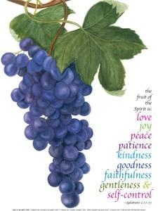 Fruit Of The Spirit Print – CCO Cards & Prints