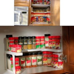 Kitchen Organizer Calculator Storage Rack Fixins G