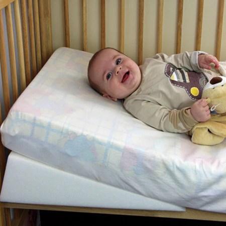 Luxury Quilted Wedgehog Deluxe  70cm Cot Bed Reflux