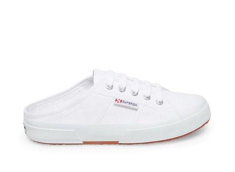 White Womens Slip On Sneakers