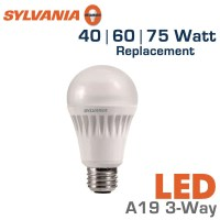 LED 3-Way Bulb 40/60/75 Watt Equal - Sylvania LED13A19 ...