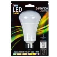 LED 3-Way Three Way Light Bulb 100 Watt Equal FEIT A30/100 ...