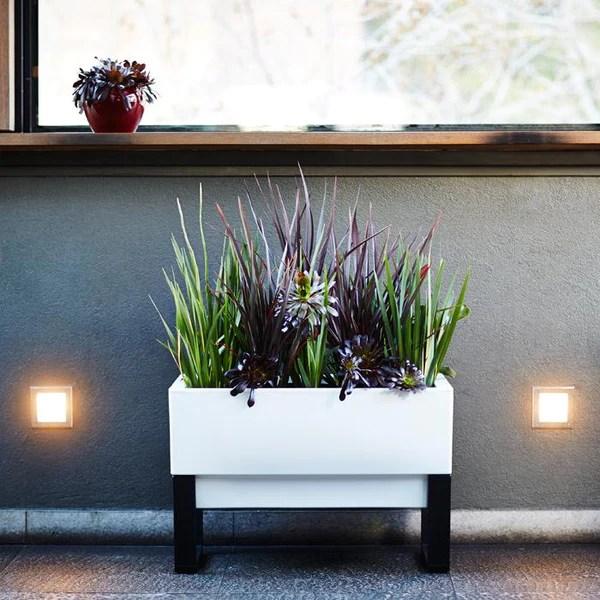 Urban Garden Planter Box Modern Planters For A Stylish
