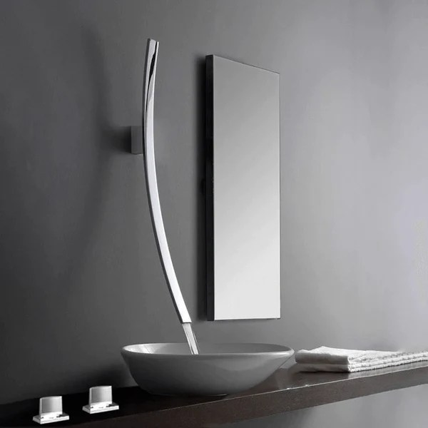 modern designer 27 5 inch wall mount waterfall faucet stavro