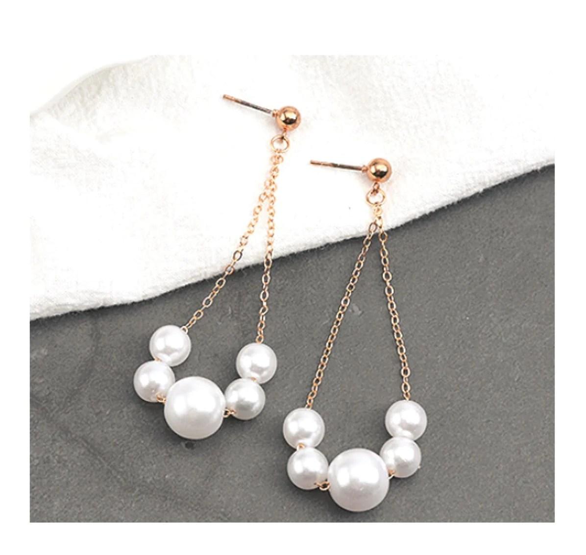 earring kit white gold