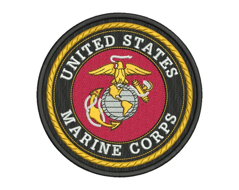 us marine corps badge