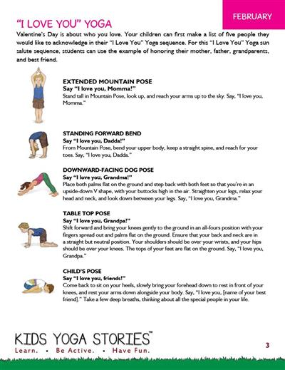 Kids Yoga Class Ideas Stories