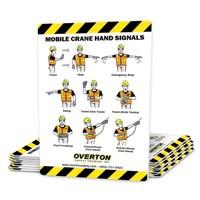 mobile crane safety hand